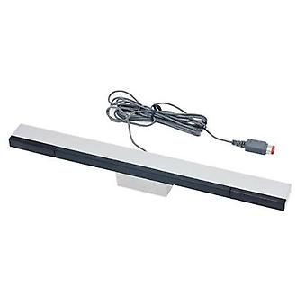 Zedlabz wired infrared led sensor bar for nintendo wii & wii u inc stand - silver