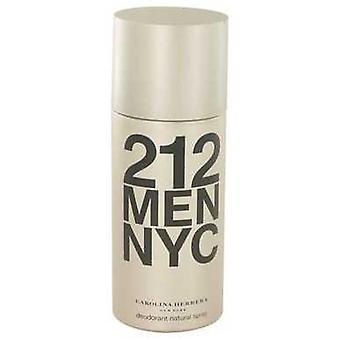 212 Par Carolina Herrera Deodorant Spray 5 Oz (hommes) V728-414600
