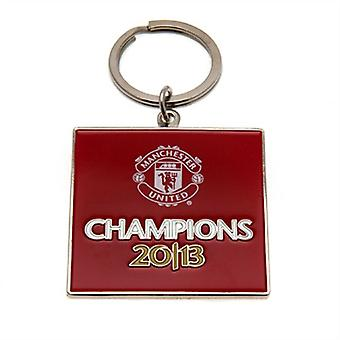 Manchester United FC officiel Football Champions 2013 Keyring
