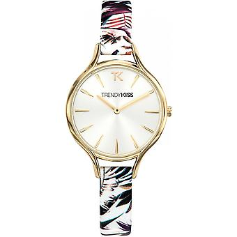 Watch Trendy Kiss TRG10093-03 - Floral Violet woman