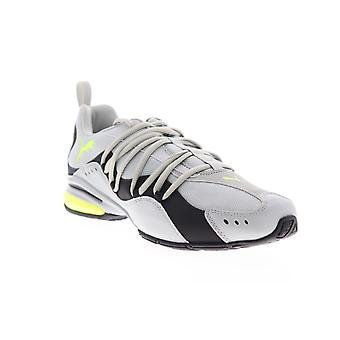 Puma Silverion  Mens Gray Canvas Lace Up Athletic Running Shoes