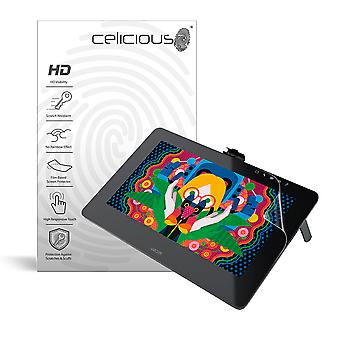Celicious Vivid Film Protector Compatible with Wacom Cintiq Pro 13 [Pack of 2]