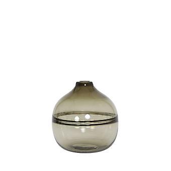 Light & Living Vase 18x20cm Mucelao Glass Brown