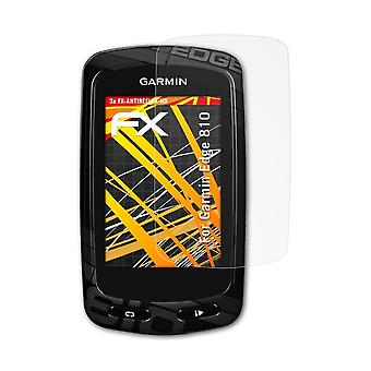 atFoliX Glass Protector compatible with Garmin Edge 810 Glass Protective Film 9H Hybrid-Glass