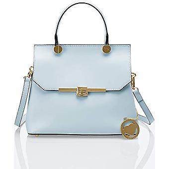 Ccacca Bags Cbc7708tar Blue Women's handbag (Sky) 12x23x27 cm (W x H x L)