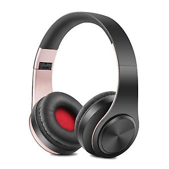 ZAPET Wireless Bluetooth Headset Wireless Headphones Stereo Gaming Pink-Black