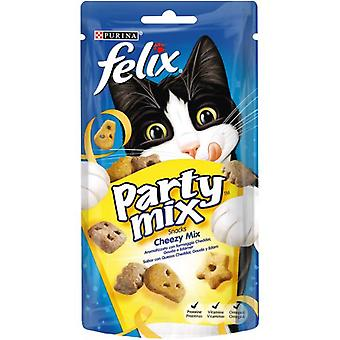 Felix Snack Party Mix Cheezy (Cats , Treats , Biscuits)