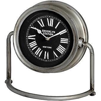 Hill Interiors Brooklyn Station Mantel Clock