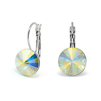 Oorbellen Crystal Aurora Boreale EMB 1.6