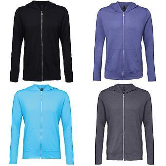 Anvil Womens/Ladies Tri-Blend Full Zip Hoodie