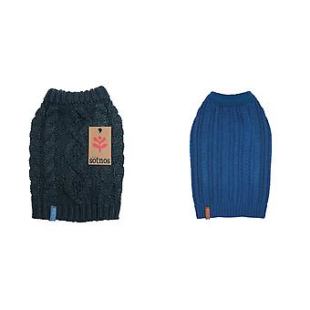 Sotnos Chunky Cable Knit Dog Jumper