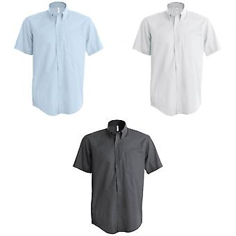 Kariban heren korte mouwen Easy Care Oxford Shirt