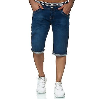 Men's Jeans Shorts Shorts Style Pants Denim Summer Bermuda Stone Washed Stretch
