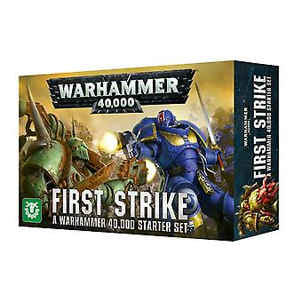Pierwsze uderzenie: Warhammer 40 000 zestaw startowy