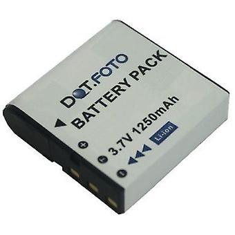 Batterie de remplacement de la CNP-40 de Dot.Foto HP - 3.7V / 1250mAh