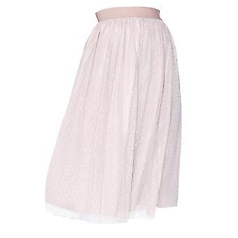 Little Mistress Womens/Ladies Midi Dot Skirt