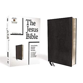Jeesus Raamatun, NIV Edition, Leathersoft, musta, indeksoitu, Comfort tulosta
