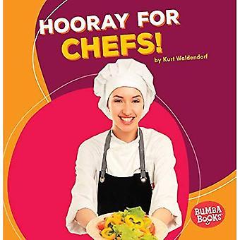 Hurra för kockar! (Bumba böcker hurra för gemenskapens hjälpare!)
