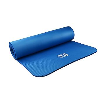 Urban Fitness NBR Workout Yoga Pilates Fitness Mat Blue - 183 x 61cm x 10mm
