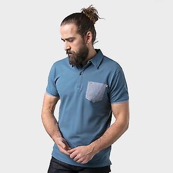 Neue Regatta Herren's Gerste Polo Shirt blau