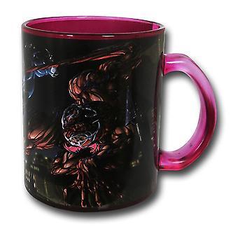 Gift Vs Gemetzel Glas Kaffeebecher