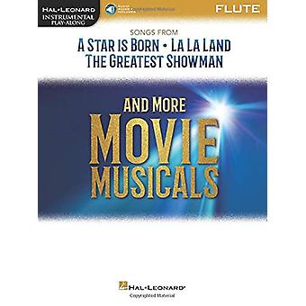 INSTRUMENTAL PLAYALONG SONGS FROM MOVIE MUSICALS FLT BK/AUDIO by Pete