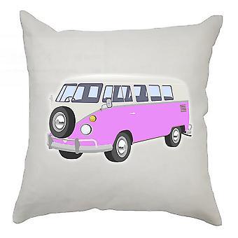 Campervan Cushion Cover 40cm x 40cm Pink