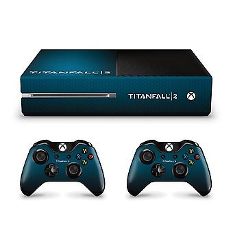 Official Titanfall 2 Xbox One Honeycomb Console Skin
