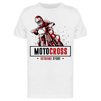 Motocross Sport  Tee Men's -Image by Shutterstock