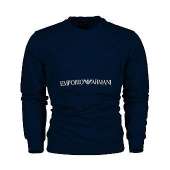 EA7 Emporio Armani Ea7 | Emporio Armani 3hm30 Pj05z 3d Embossed Logo Sweat Top