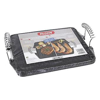 Grill hotplate Rayen Cast iron Rectangular/24 x 43,5 cm