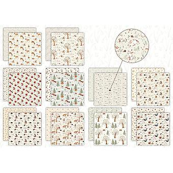 Craft Consortium Little Fawn & Friends 12x12 Inch Paper Pad