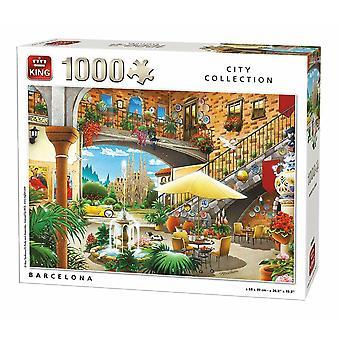 Kings Barcelona Jigsaw Puzzle, 1000 Piece