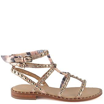 Ash Footwear Patchouli Rame Leather Studded Sandal