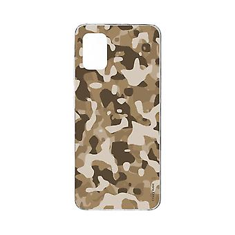 Hull For Samsung Galaxy A71 Flexible Desert Military Camouflage