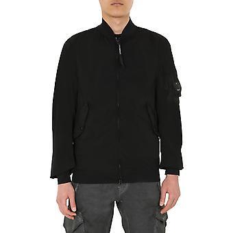 C.p. Company 08cmow195a001020g9990 Men's Black Nylon Outerwear Jacket