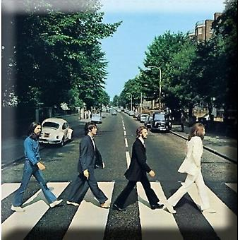 The Beatles Fridge Magnet Abbey Road novo Oficial 76mm x 76mm