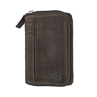 Carteira de carteira de Camel mens ativo bolsa preta 6356