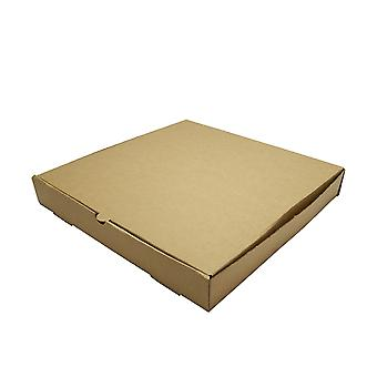 Vegware Compostable Brown Kraft Pizza Boxes 12inch
