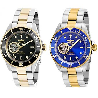 Invicta Men's Pro Diver Two-Tone Steel Bracelet Automatic Analog Watch