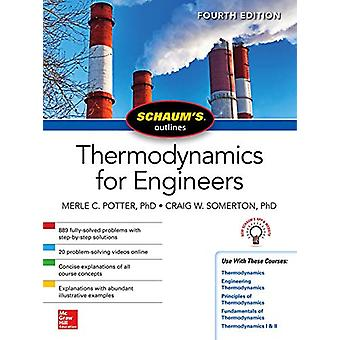 Schaums Outline of Thermodynamics for Engineers - Fourth Edition by M