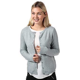 Women's Vero Moda Doffy Short Cardigan in Grey