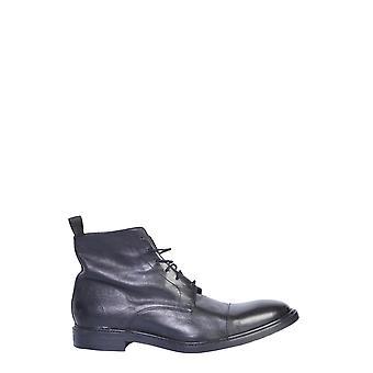Paul Smith M1sjar01acarv79 Män's svarta läderkängor