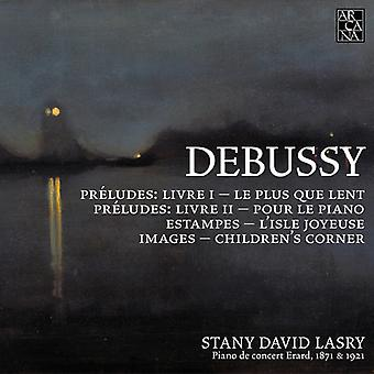 Debussy / Lasry - Piano Music [CD] USA import