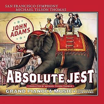 Adams, J. / Thomas, Tilson Michael / Adams, John - Absolute Jest Grand Pianola Music [SACD] USA import