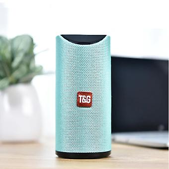T & G TG-113 Wireless Soundbar Speaker Wireless Bluetooth 4.2 Speaker Box Green