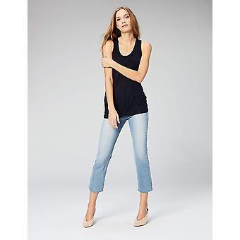 الطقوس اليومية المرأة & apos;s سوبر لينة مشروط شبه محض جيب أعلى دبابة, البحرية, متوسطة