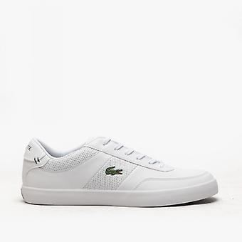 Lacoste Court-master 0120 1 Mens Leather Trainers White