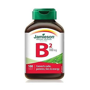 Vitamin B2 100 tablets of 100mg