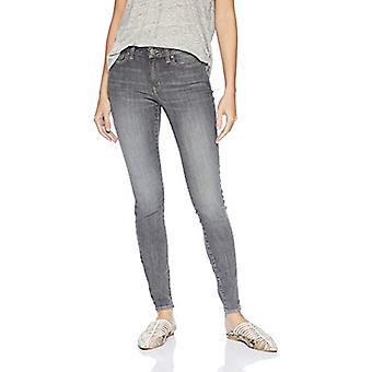 Marca - Daily Ritual Women's Mid-Rise Skinny Jean, Hi-Lo Grey, 27 (4) ...